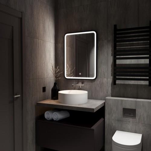 Зеркало с подсветкой для ванной комнаты Моника