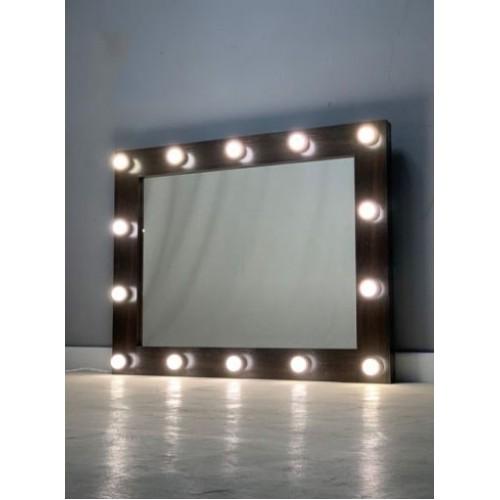 Гримерное зеркало с подсветкой 80х100 см 14 ламп